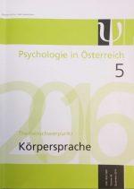 Psychologie in Österreich_Cover